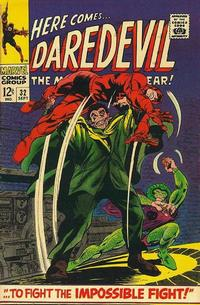 Cover Thumbnail for Daredevil (Marvel, 1964 series) #32 [Regular Edition]