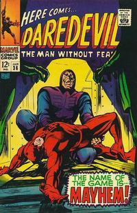 Cover Thumbnail for Daredevil (Marvel, 1964 series) #36