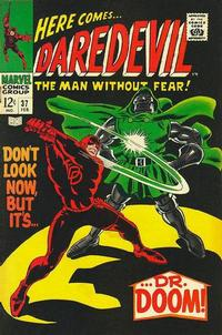 Cover Thumbnail for Daredevil (Marvel, 1964 series) #37