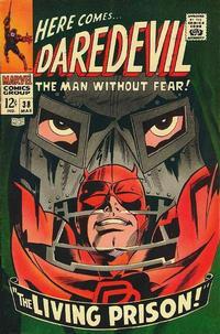 Cover Thumbnail for Daredevil (Marvel, 1964 series) #38