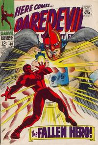Cover Thumbnail for Daredevil (Marvel, 1964 series) #40