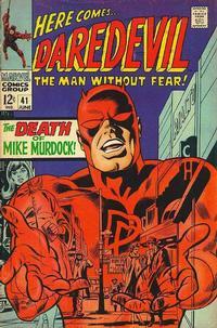 Cover Thumbnail for Daredevil (Marvel, 1964 series) #41