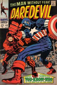Cover Thumbnail for Daredevil (Marvel, 1964 series) #43