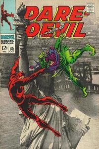 Cover Thumbnail for Daredevil (Marvel, 1964 series) #45