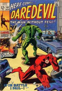 Cover Thumbnail for Daredevil (Marvel, 1964 series) #50