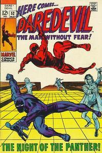 Cover Thumbnail for Daredevil (Marvel, 1964 series) #52 [Regular Edition]