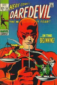 Cover Thumbnail for Daredevil (Marvel, 1964 series) #53 [Regular Edition]