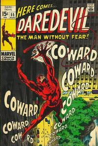 Cover Thumbnail for Daredevil (Marvel, 1964 series) #55 [Regular Edition]