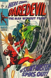 Cover Thumbnail for Daredevil (Marvel, 1964 series) #58 [Regular Edition]