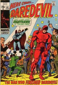 Cover Thumbnail for Daredevil (Marvel, 1964 series) #62 [Regular Edition]