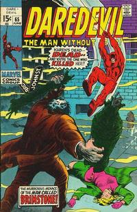 Cover Thumbnail for Daredevil (Marvel, 1964 series) #65 [Regular Edition]