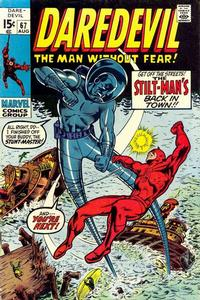 Cover Thumbnail for Daredevil (Marvel, 1964 series) #67 [Regular Edition]