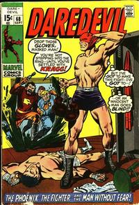Cover Thumbnail for Daredevil (Marvel, 1964 series) #68 [Regular Edition]