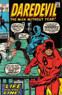 Cover Thumbnail for Daredevil (Marvel, 1964 series) #69 [Regular Edition]