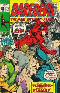 Cover Thumbnail for Daredevil (Marvel, 1964 series) #70 [Regular Edition]