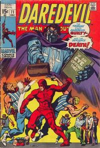 Cover Thumbnail for Daredevil (Marvel, 1964 series) #71 [Regular Edition]