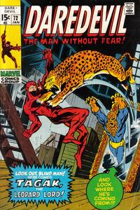 Cover Thumbnail for Daredevil (Marvel, 1964 series) #72 [Regular Edition]