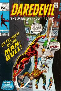 Cover Thumbnail for Daredevil (Marvel, 1964 series) #78 [Regular Edition]