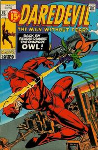 Cover Thumbnail for Daredevil (Marvel, 1964 series) #80 [Regular Edition]