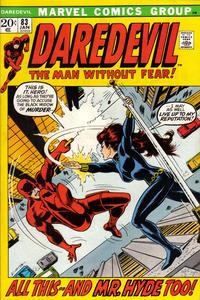 Cover Thumbnail for Daredevil (Marvel, 1964 series) #83 [Regular Edition]