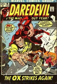 Cover Thumbnail for Daredevil (Marvel, 1964 series) #86 [Regular Edition]