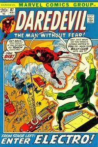Cover Thumbnail for Daredevil (Marvel, 1964 series) #87 [Regular Edition]