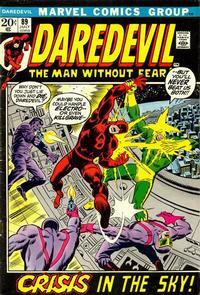 Cover Thumbnail for Daredevil (Marvel, 1964 series) #89 [Regular Edition]