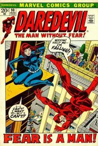 Cover Thumbnail for Daredevil (Marvel, 1964 series) #90 [Regular Edition]