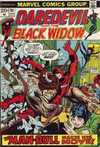 Cover Thumbnail for Daredevil (Marvel, 1964 series) #95 [Regular Edition]