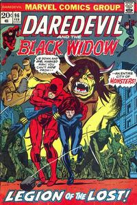 Cover for Daredevil (Marvel, 1964 series) #96 [Regular Edition]