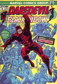Cover Thumbnail for Daredevil (Marvel, 1964 series) #100 [Regular Edition]