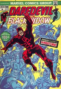 Cover Thumbnail for Daredevil (Marvel, 1964 series) #100 [Regular Edition]