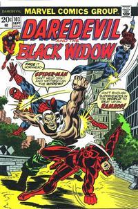 Cover Thumbnail for Daredevil (Marvel, 1964 series) #103 [Regular Edition]
