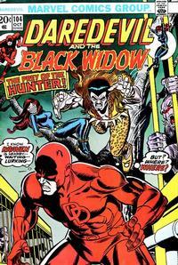 Cover Thumbnail for Daredevil (Marvel, 1964 series) #104 [Regular Edition]