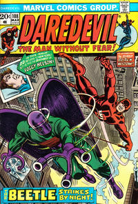 Cover Thumbnail for Daredevil (Marvel, 1964 series) #108 [Regular Edition]