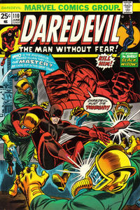 Cover Thumbnail for Daredevil (Marvel, 1964 series) #110