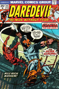 Cover for Daredevil (Marvel, 1964 series) #111