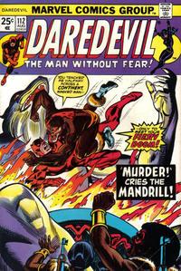 Cover Thumbnail for Daredevil (Marvel, 1964 series) #112 [Regular Edition]