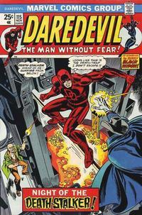 Cover Thumbnail for Daredevil (Marvel, 1964 series) #115 [Regular Edition]