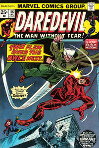 Cover Thumbnail for Daredevil (Marvel, 1964 series) #116 [Regular Edition]