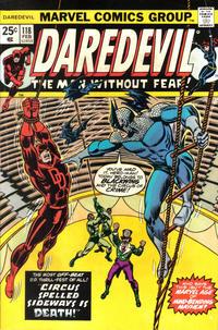 Cover Thumbnail for Daredevil (Marvel, 1964 series) #118 [Regular Edition]
