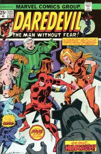 Cover Thumbnail for Daredevil (Marvel, 1964 series) #123 [Regular Edition]