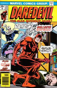 Cover Thumbnail for Daredevil (Marvel, 1964 series) #131 [Regular Edition]