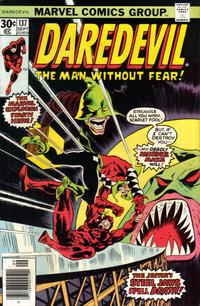 Cover Thumbnail for Daredevil (Marvel, 1964 series) #137 [Regular Edition]