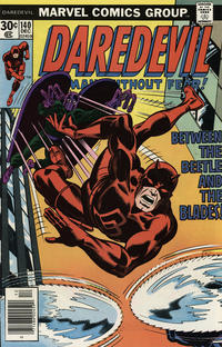 Cover Thumbnail for Daredevil (Marvel, 1964 series) #140 [Regular Edition]