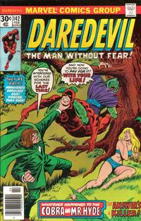 Cover Thumbnail for Daredevil (Marvel, 1964 series) #142 [Regular Edition]
