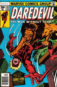 Cover Thumbnail for Daredevil (Marvel, 1964 series) #143 [Regular Edition]