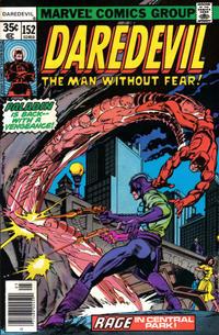 Cover Thumbnail for Daredevil (Marvel, 1964 series) #152 [Regular Edition]