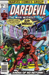 Cover for Daredevil (Marvel, 1964 series) #154 [Regular Edition]