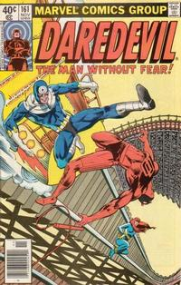 Cover Thumbnail for Daredevil (Marvel, 1964 series) #161 [Newsstand Edition]